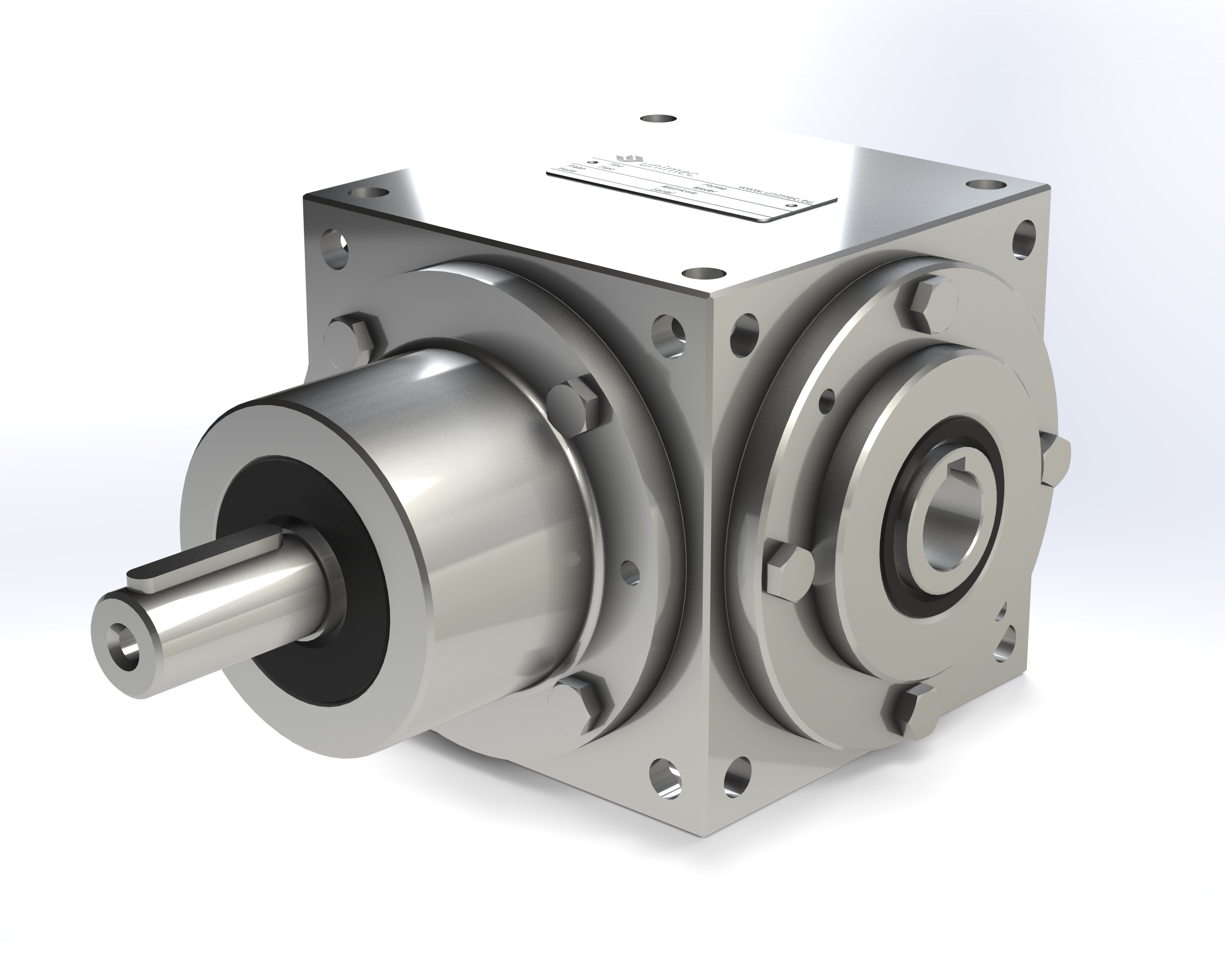 Stainless Steel Bevel Gearboxes